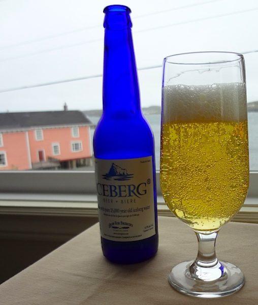 Iceberg Beer at Captain's Pub