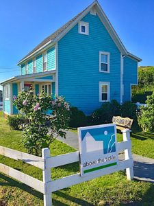 Above the Tickle Vacation Home, photo credit to Kren Schaler from Traveltherapy.com