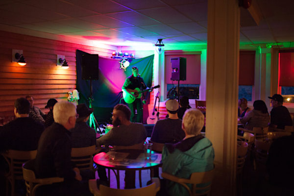 Mike Sixonate Show at Captain's Pub. live entertainment in summer six nights a week with no cover charge.