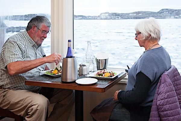 Oceanview Dining at Georgie's Restaurant