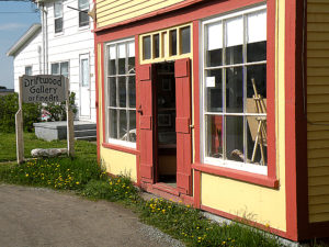 The Driftwood Gallery is home to the art of Twillingate artist Ted Stuckless.