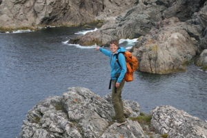 Hiking the coastline in Twillingate