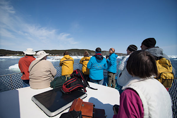 Boat tour in Twillingate