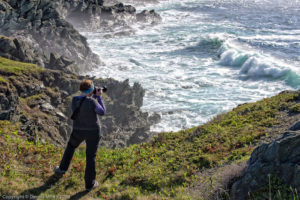 Capturing the waves in Sleepy Cove