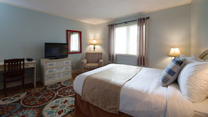 Queen Room at the Anchor Inn Hotel in Twillingate