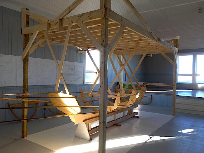 Wooden Boat Museum Display Twillingate Tourism Newfoundland Canada