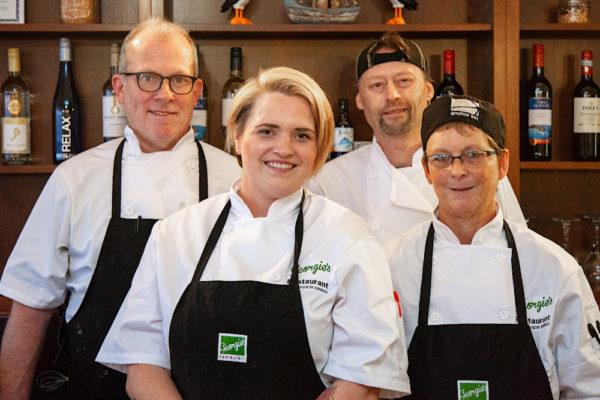 Team at Georgie's Restaurant