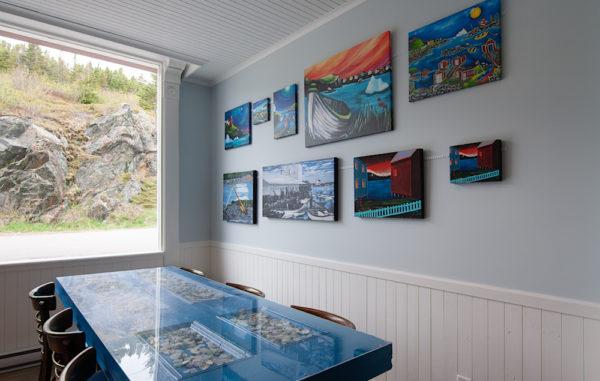 Blue Barrel Gallery Cafe in Twillingate